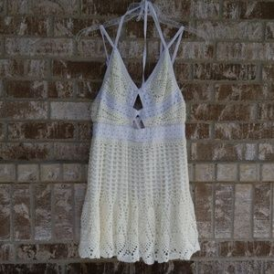Free People Limited Edition Crochet Dress Size 10